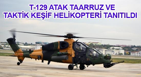 T-129 ATAK tanıtıldı