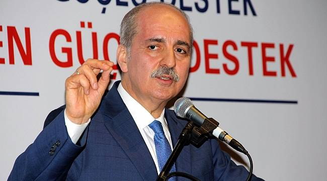 """Kurtulmuş: """"Türkiye'de geçmiş zamanlarda da partili cumhurbaşkanı yaşadı"""""""