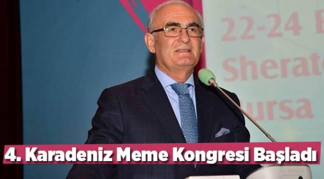 4. Karadeniz Meme Kongresi Başladı - Samsun Haber