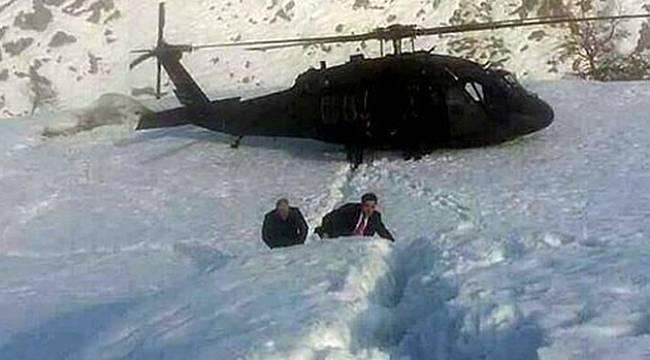 Başbakan Yıldırım, Kar-kış demeden halkla el ele.