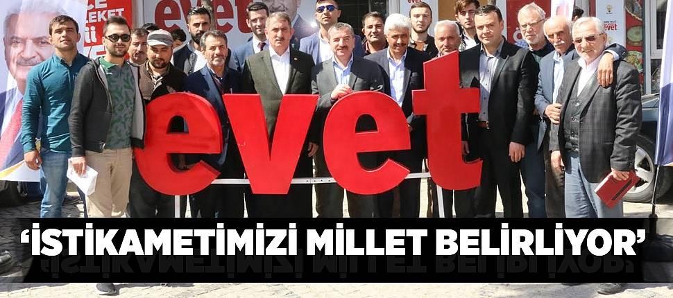 'İSTİKAMETİMİZİ MİLLET BELİRLİYOR' - Samsun Haber