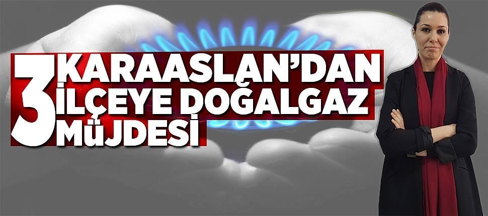 Karaaslan'dan 3 ilçeye doğalgaz müjdesi  - Samsun Haber
