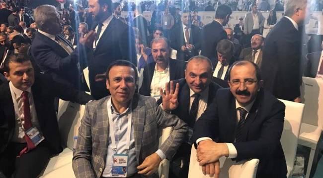 Değişimin lideri ile milletin partisi buluştu