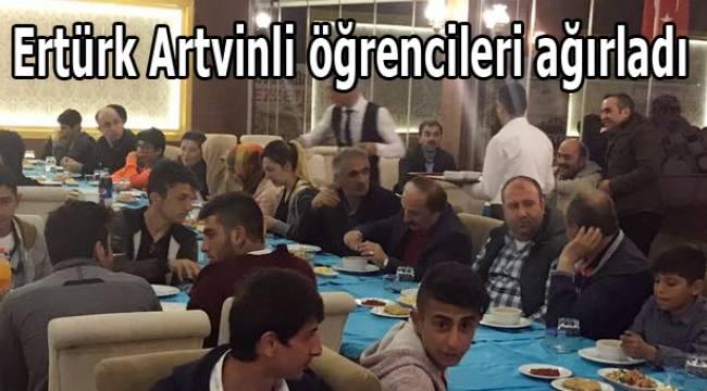 Ertürk Artvinli öğrencileri ağırladı