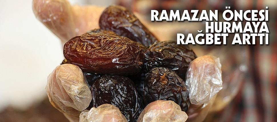 Ramazan öncesi hurmaya rağbet arttı