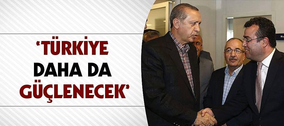 Taşçı'nın 'Erdoğan' gururu