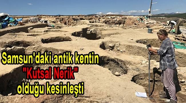 Samsun'daki antik kentin