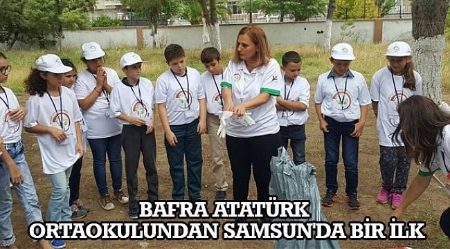 SAMSUN HABER - Bafra Atatürk Ortaokulundan Samsun'da bir ilk