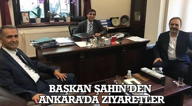 SAMSUN HABER - Başkan Şahin'den Ankara'da ziyaretler