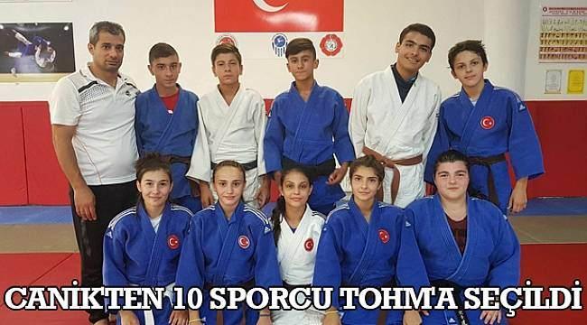 SAMSUN HABER - Canik'ten 10 sporcu TOHM'a seçildi