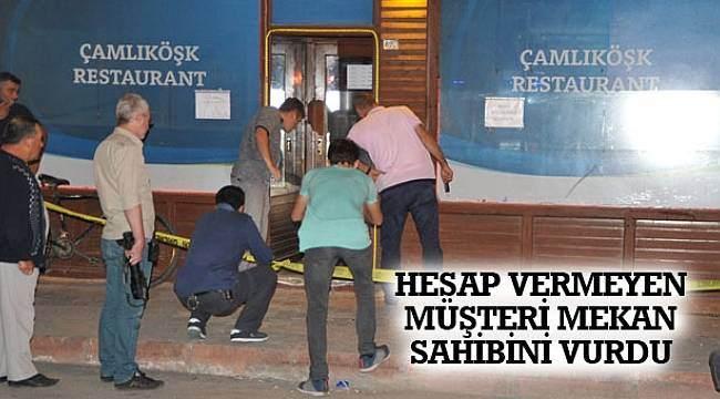 SAMSUN HABER - Hesap vermeyen müşteri, mekan sahibini vurdu