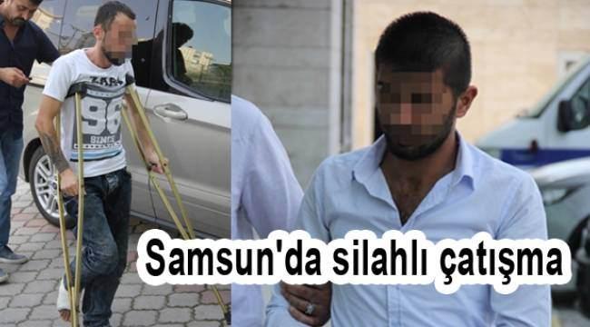 Samsun Haber - Samsun'da silahlı çatışmaya 1 tutuklama