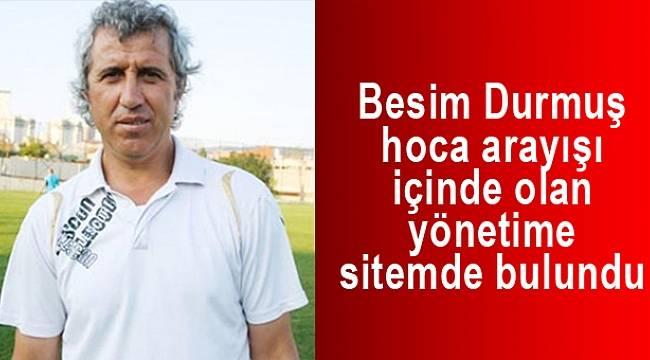 """Besim Durmuş: """"Yerli danadan öküz olmuyormuş"""""""