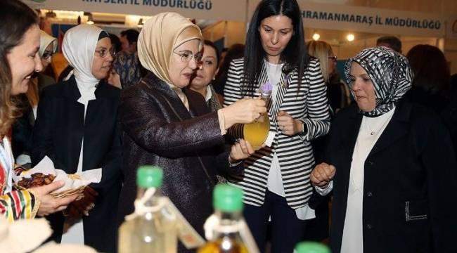 EMİNE ERDOĞAN'DAN SAMSUN'A GURUR VEREN ÖDÜL
