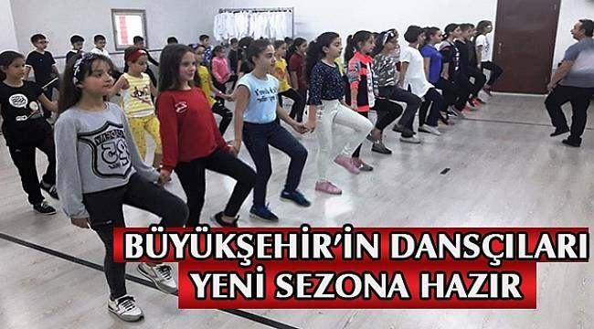 SAMSUN HABER - Büyükşehir'in dansçıları yeni sezona hazır