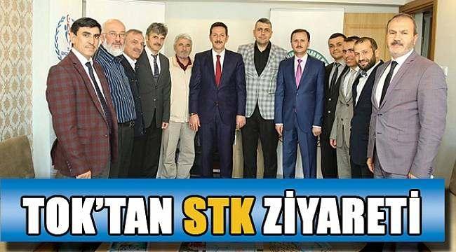 SAMSUN HABER - Erdoğan Tok STK'ları ziyaret etti