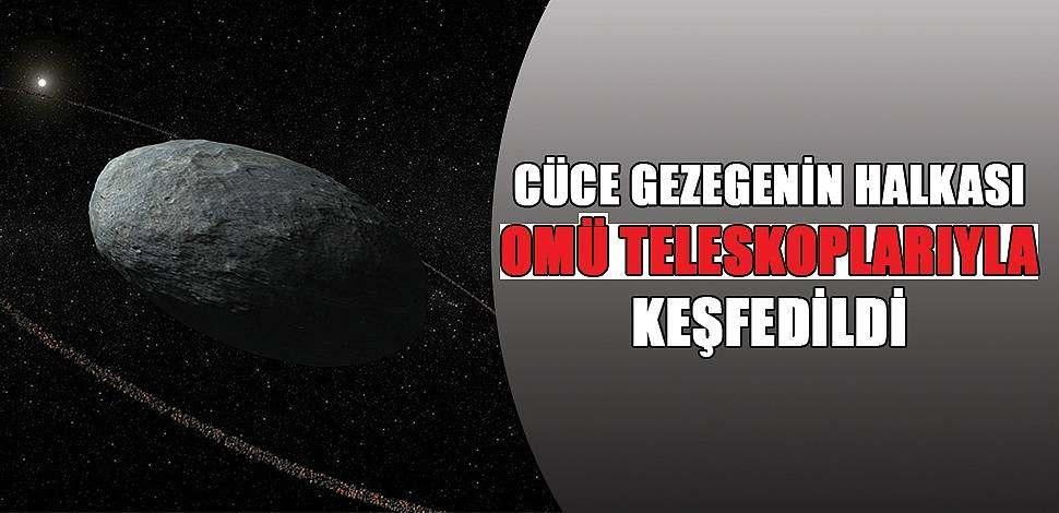 SAMSUN HABER - Haumea'nın halkası OMÜ Gözlemevi katkısıyla keşfedildi