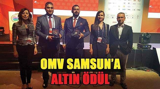 SAMSUN HABER - OMV Samsun Elektrik Altın Voltak Ödülü aldı