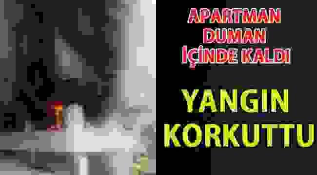 SAMSUN HABER - Samsun'da ev yangını korkuttu