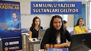 SAMSUN HABER - TOBB ve Turkcell desteğiyle kod yazmayı öğrendiler, şimdi projeleriyle yarışıyorlar
