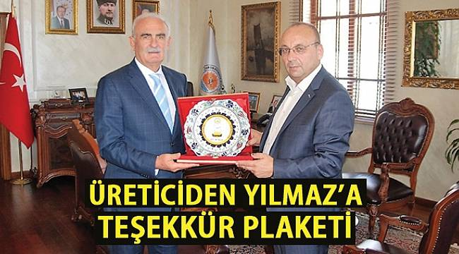SAMSUN HABER - Türkiye Arı Yetiştiricileri Birliği'nden Yılmaz'a teşekkür