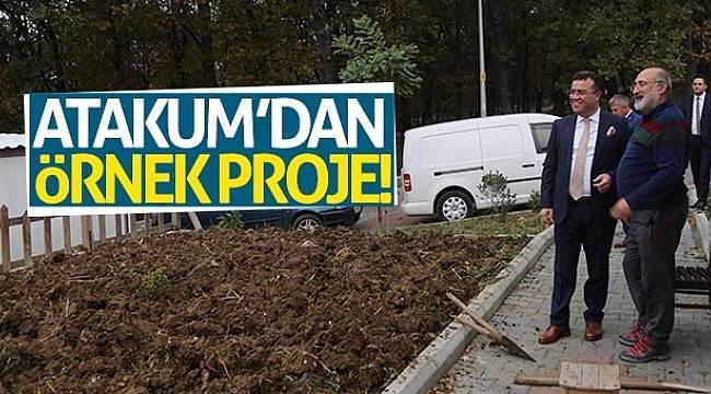 Atakum'dan örnek proje!