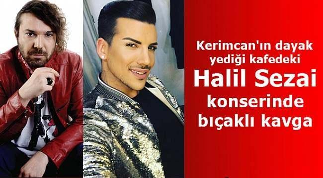 Samsun'da Halil Sezai konserinde bıçaklı kavga