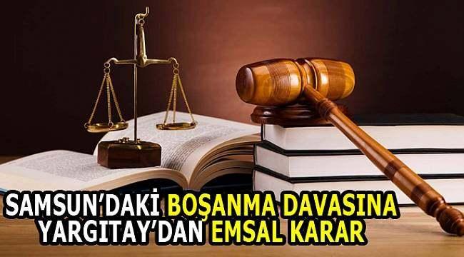 Samsun Haber - Erkeğin düzenli işi olmaması boşanma sebebi