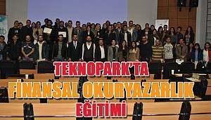 """SAMSUN HABER - Samsun Teknopark`ta """"Finansal Okuryazarlık"""" eğitimi"""
