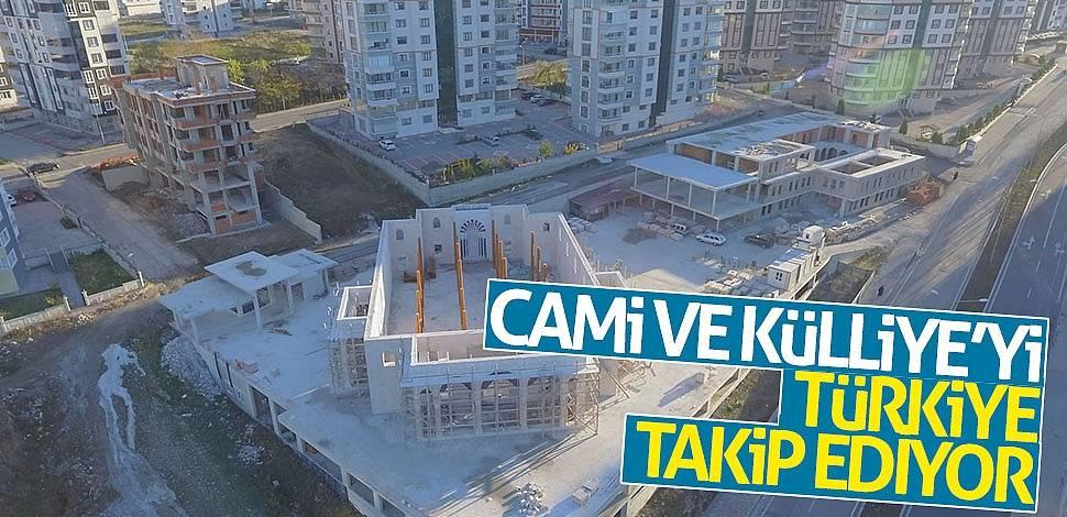 Cami ve Külliye'yi Türkiye takip ediyor