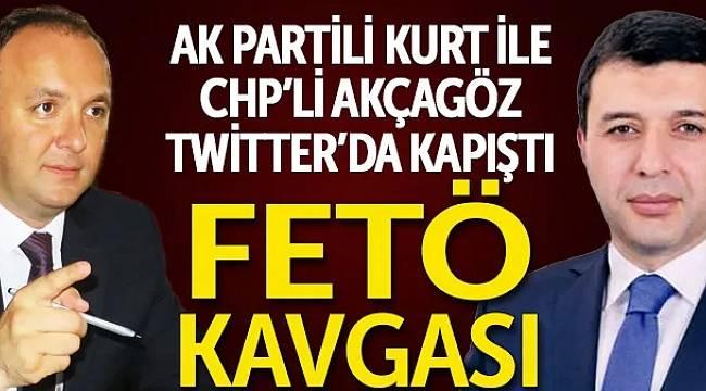 AK Partili Kurt ile CHP'li Akçagöz twitter'da kapıştı