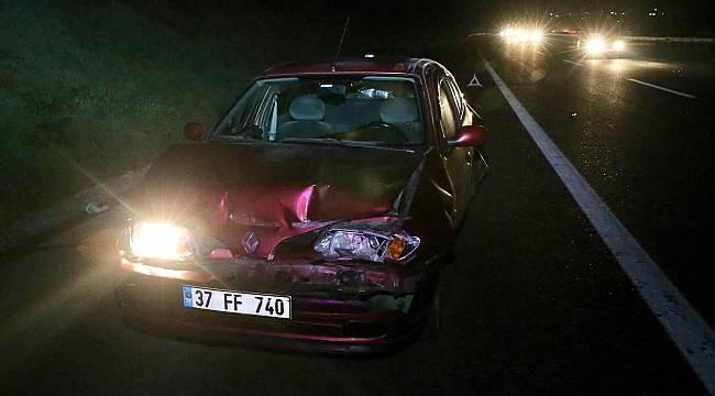 Anadolu Otoyolu'nda feci kaza 5 yaralı