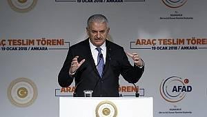 Başbakan Yıldırım: Türkiye'yi tehdit eden hiçbir oluşum müsamaha ile karşılanmayacak