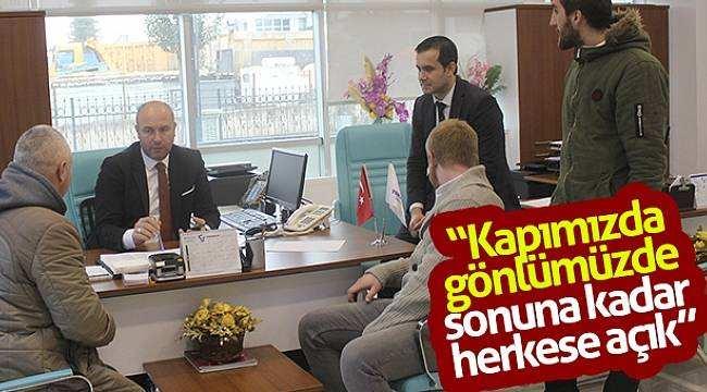 """Hasan Togar: """"Kapımızda gönlümüzde sonuna kadar herkese açık"""""""