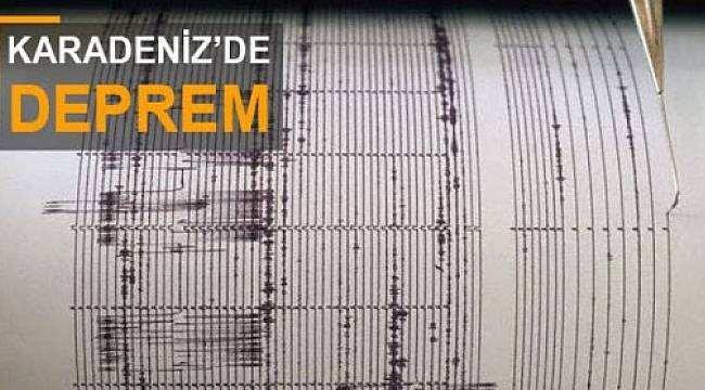 Karadeniz'de deprem! O ilimiz üst üste sallanıyor
