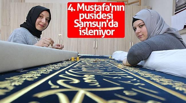 4. Mustafa'nın puşidesi Samsun'da işleniyor