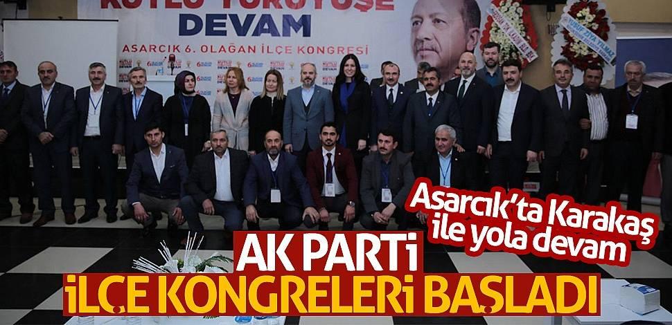 AK Parti İlçe Kongreleri başladı