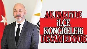 AK Parti ilçe kongreleri kaldığı yerden devam ediyor