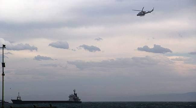 Karadeniz'de kuru yük gemisinde patlama