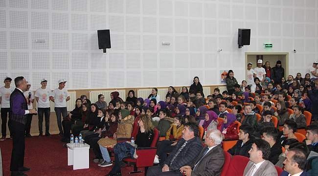 Öğrencilere 'doğa ve teknoloji' semineri