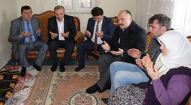 Usta'dan şehit ailesine ziyaret
