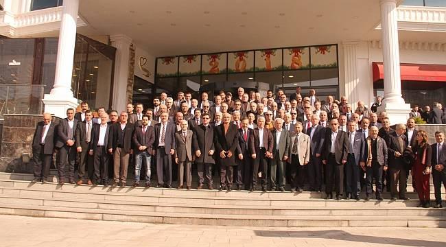Başkanlar STK temsilcileriyle Bafra'da buluştu