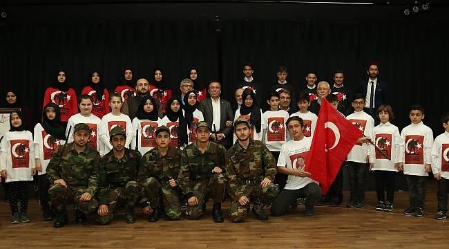 Canik'te Çanakkale Zaferi anma programı