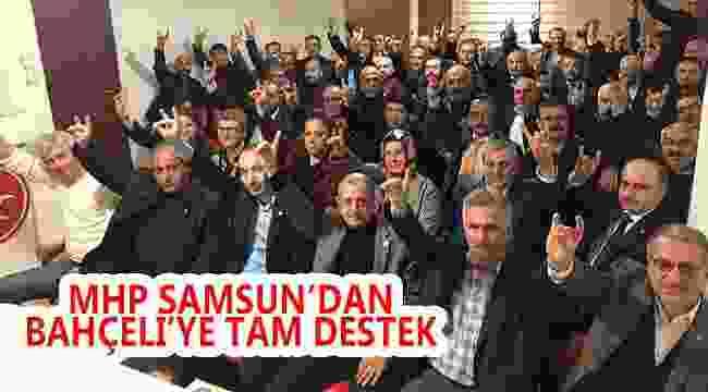 MHP SAMSUN TEŞKİLATLARI BÜYÜK KURULTAY'A HAZIR