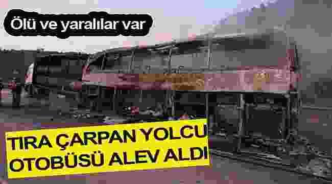 Otobüste can pazarı 13 kişi öldü