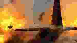 Rus kargo uçağı Suriye'de düştü: 32 ölü