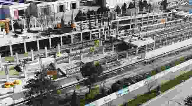 Samsun'da yeni müze inşaatı hızla yükseliyor