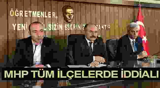 Tekin: MHP Samsun'un 17 ilçesi ve Büyükşehir Belediyesi'nde iddialı