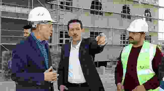 Ulugazi TOKİ Camii inşaatı başlıyor
