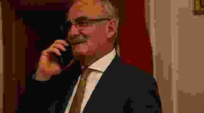 Yılmaz Afrin'de destan yazan Samsunlu komutan ile telefonda görüştü